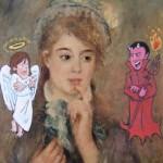 renoir devil/angel