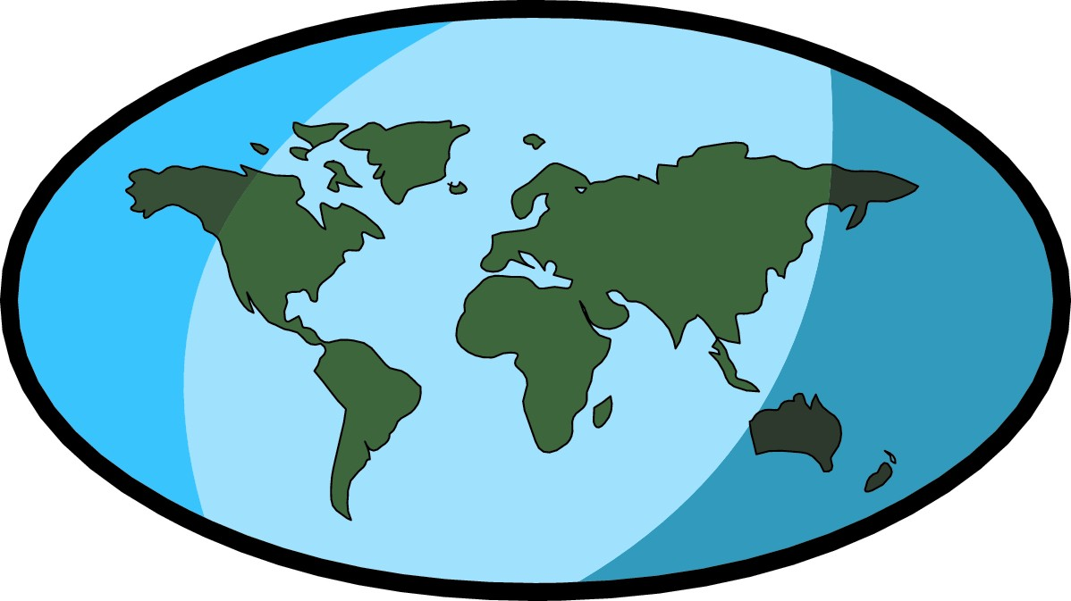 World Map Clipart
