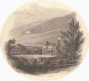 Abbotsford Sir Walter Scott home 1812