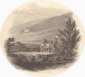 Abbotsford Sir Walter Scott home 1812