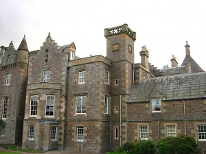 Abbotsford House, north elevation, by M. Schnitzler, WC CC3.
