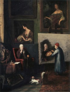 Portrait_of_James_Northcote_Painting_Sir_Walter_Scott WC pd