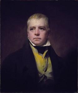 Sir Walter Scott, 1771 - 1832. Novelist and poet