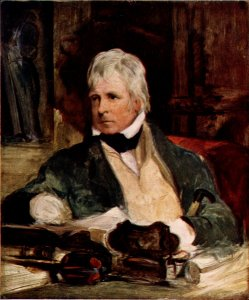 portrait Sir Walter Scott
