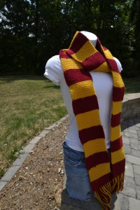 Etsy Harry Potter scarf by DisKnit